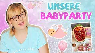 Unsere Babyparty / Mega Überraschung unserer Freunde / Baby Shower SSW 37