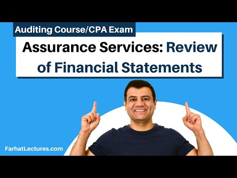 Assurance Services: Reviews of Financial Statements | Auditing and Attestation | CPA Exam