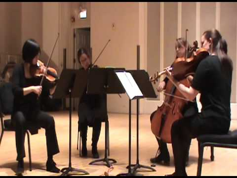 Haydn String Quartet Op. 77 No. 1 movement 3