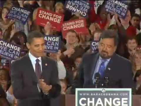 Bill Richardson Endorses Obama (Hi Res)
