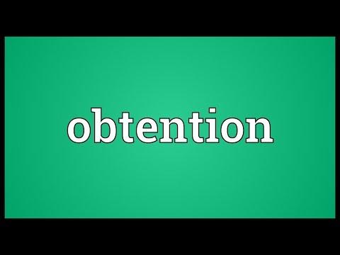 Header of obtention