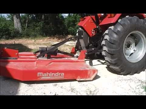 How to connect your mowing implement to your Tractor