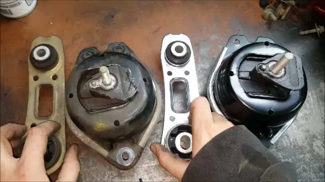 Renault Laguna 2 Upper Engine Suspension Replacing Passenger Side