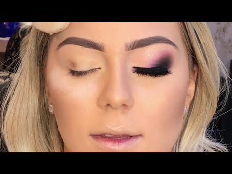 Maquiando Cliente #16 - Esfumado Diagonal por Sabrina Faria