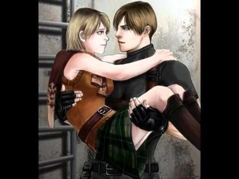 Леон и Эшли)))) Love