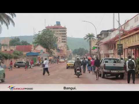 2e Carte postale de la ville de Bangui par BANGUIWOOD TV