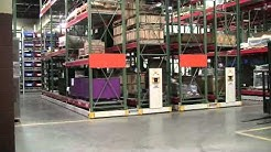 ActivRAC® Warehouse Shelving System Saves Wasted Aisle Space