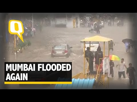 Mumbai Flooded Again : Train & Health Services Take a Hit - The Quint