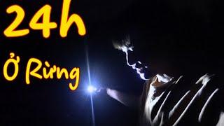 24H Ở TRONG RỪNG II San Vlog