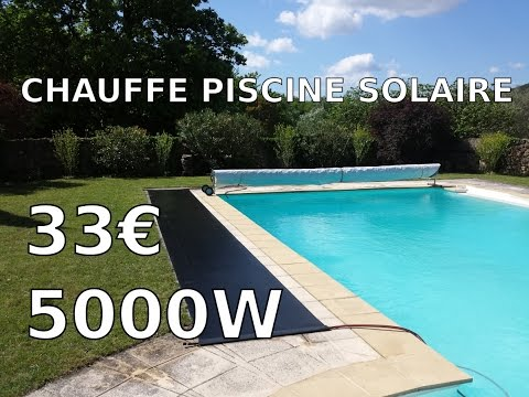 fabrication chauffage piscine solaire facile et efficace youtube. Black Bedroom Furniture Sets. Home Design Ideas