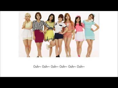 Short Hair AOA Lyrics (Color Coded) [ENG+ROM]
