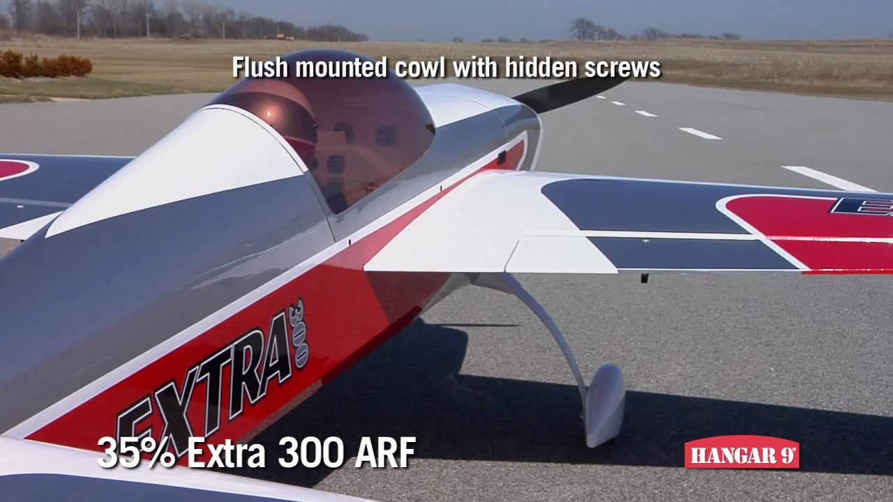 The Hangar 9 Extra 300 ARF  35% Large Scale Model Aircraft