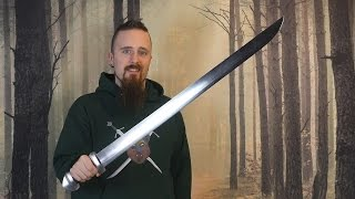 My first impression of the Albion Berserkr (single edged Viking sword)