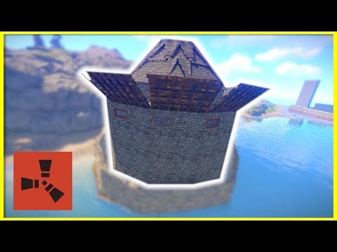 Rust Raids: ROOF STACKED CONE BASE | SULFUR