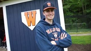 Walpole High\'s standout pitcher Cam Schlittler is a Danny V\'s Hotshot
