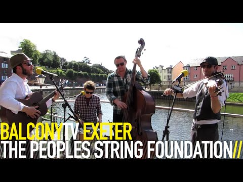 THE PEOPLES STRING FOUNDATION - PHONEY AND THE SCAR (BalconyTV)