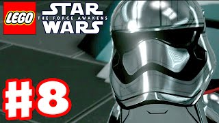 LEGO Star Wars The Force Awakens - Gameplay Part 8 - Chapter 8: Starkiller Sabotage!