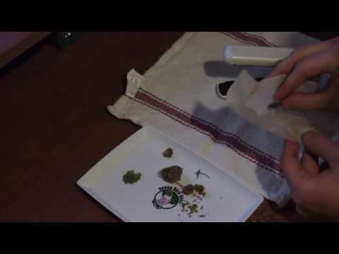 Relief ASMR - Soft Spoken Rambling and Solventless Cannabis Oil Extraction