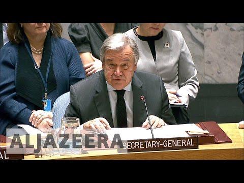 New UN chief Antonio Guterres lays out his vision