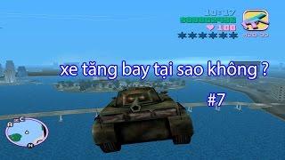 Xe Tăng LẠC TRÔI (SƠN TÙNG MTP) Hướng Dẫn Làm Xe Tăng Bay | Bình Luận GTA VICE CITY | # 7 |