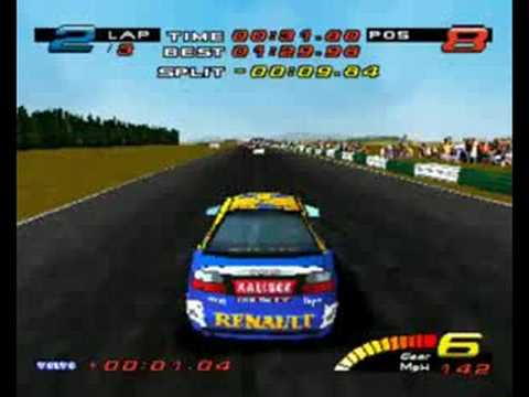 Toca touring cars PS1 gameplay