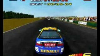 Toca touring cars PS1 gameplay