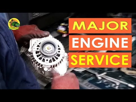 S1 EP 4 | WE MAJOR SERVICE OUR VAN  [ How To ] CAMPERVAN MALAYSIA