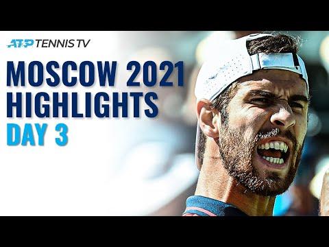 Khachanov Starts Campaign; Cilic Battles Paul, Millman vs Marchenko   Moscow 2021 Day 3 Highlights