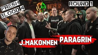 VERSUS: FRESH BLOOD 4 (J.Makonnen VS Paragrin) [реакция]