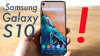 Samsung Galaxy S10 Might Have A Weird Problem