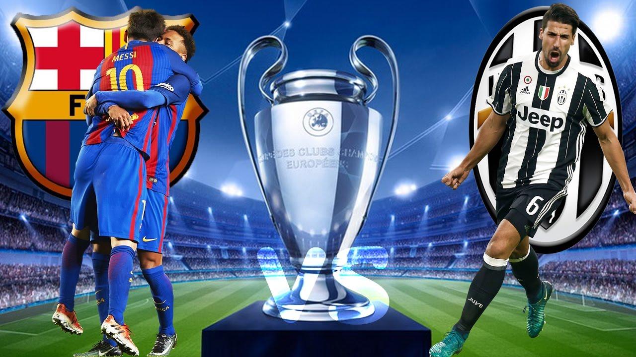 Barcelona Gegen Juventus Turin