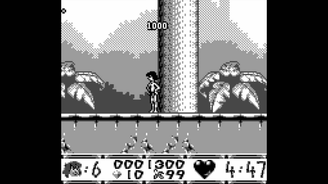 Gameboy color jungle book - The Jungle Book Gameplay For The Game Boy