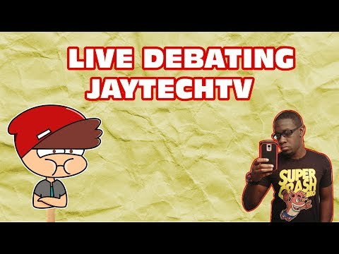 Debate with JayTechTV (WARNING CANCER)