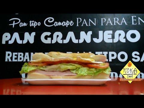 SANDWICH GRANJERO ROKA CAFE SAN FERNANDO DE APURE