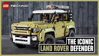 New Land Rover DEFENDER 42110 - LEGO Technic - Above and Beyond