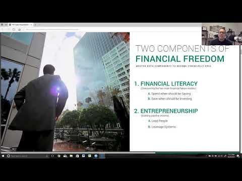 Freedom = Financial Literacy X Entrepreneurship