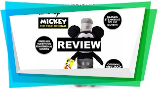 Review IMC Official Disney 90th Anniversary 30cm Steamboat Willie Mickey Mous [2019]