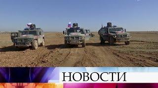 Российская военная полиция обеспечивает безопасность в сирийском Манджибе.