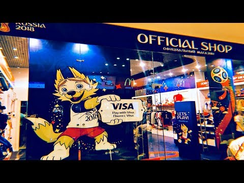 First official 2018 FIFA World Cup store in Moscow!