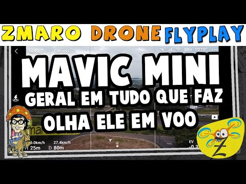 Zmaro FlyPlay Com O Mavic Mini: Veja Como é Voar E Dando Uma Geral No Que Ele Faz