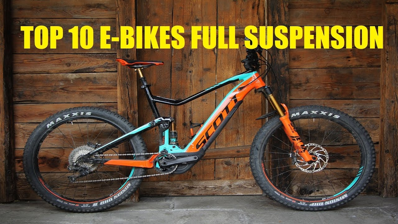 E Full In Top 10 Best E Bikes Full Suspension