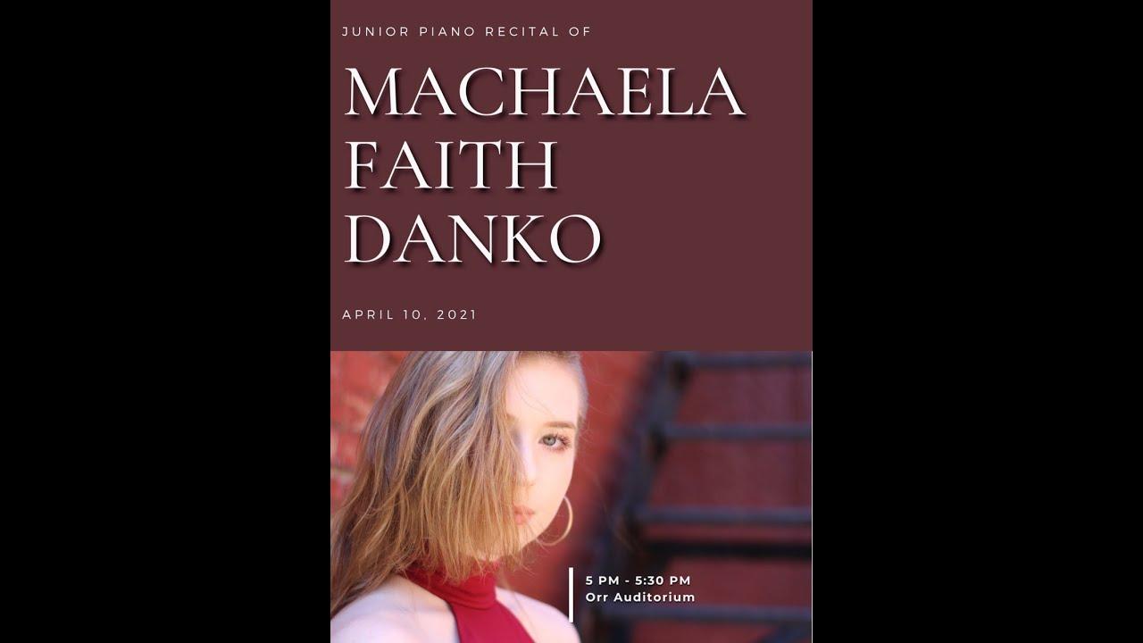 Maggie Danko Piano Recital
