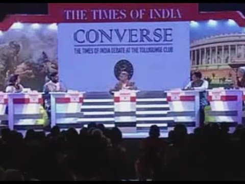 """New Politics"" - Times of India Debate at Tollygunge Club, Kolkata. March 2014 (Full Debate)"