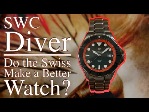 """Swiss Watch Company Diver Review 