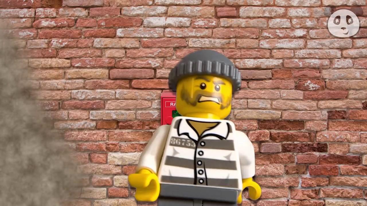 Lego City Polizei Deutsch Ausbruch Aus Der Polizeistation Teil 1
