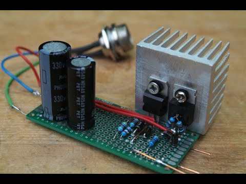 Building a Split-Rail Power Supply with a Old Transformer (#53)