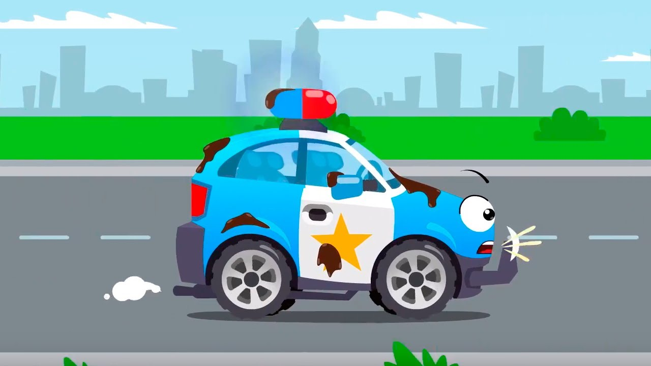 El Camión Monstruo con su chupete gigante - Cars Stories - Dibujos animados para niños