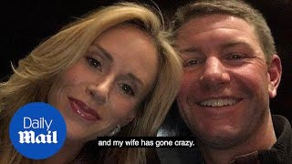 Golfer Lucas Glover tells 911 operator 'My wife has gone crazy' - Daily Mail