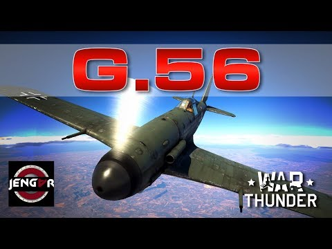 War Thunder Realistic: G.56 [Rugged Strong Lethal!]