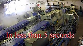 CNC Fire extinguished by Firetrace Fire Suppression System